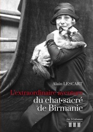 L'extraordinaire aventure du chat sacré de Birmanie - Les 3 Colonnes - 9782374808130 -