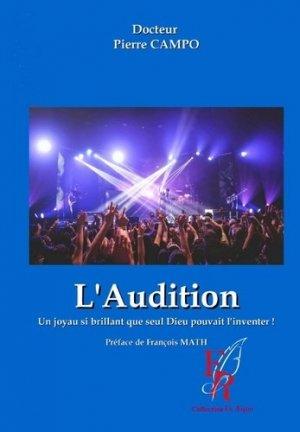 L'audition - Encre rouge - 9782377893614 -