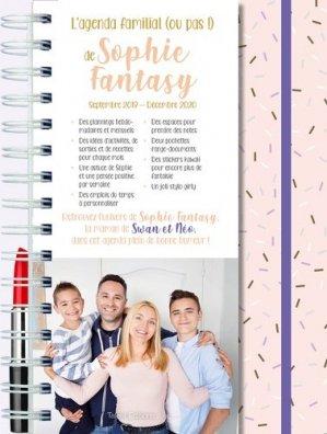 L'agenda familial (ou pas) de Sophie Fantasy. Avec 1 stylo girly, Edition 2019-2020 - Talent sport - 9782378150860 -