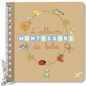 L'album de bébé Montessori - hatier - 9782401049567 -