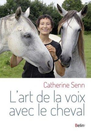 L'art de la voix avec le cheval - belin - 9782410007848 -