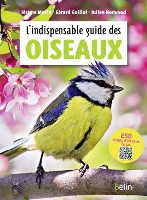 L'indispensable guide des oiseaux - belin - 9782410016529 -