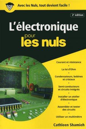 L'électronique pour les nuls - first - 9782412023730 -