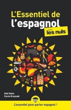 L'essentiel de l'espagnol pour les nuls ne - first editions - 9782412034583 -