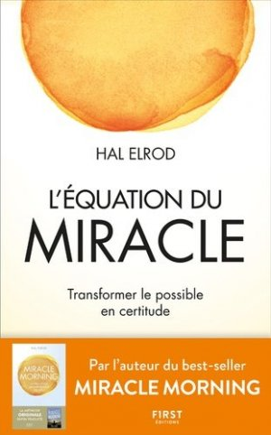 L'équation du miracle - First - 9782412051795 -