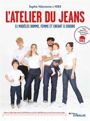 L'atelier du jean - Eyrolles - 9782416000324 -