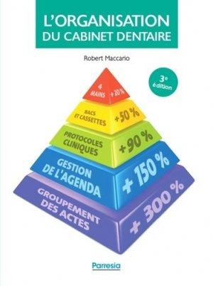 L'Organisation du cabinet dentaire - edp sciences - 9782490481033 -