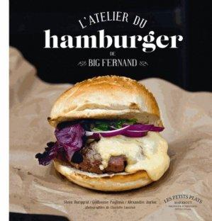 L'atelier du hamburger de Big Fernand - Marabout - 9782501081313 -