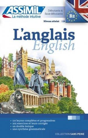 Livre seul Assimil - L'Anglais - Débutants et Faux-débutants - assimil - 9782700506488 -