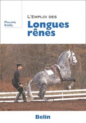 L'emploi des longues rênes - Belin - 9782701132952 -
