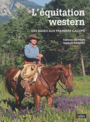 L'équitation western - belin - 9782701148632 -