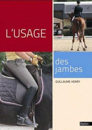 L'usage des jambes - belin - 9782701157856 -