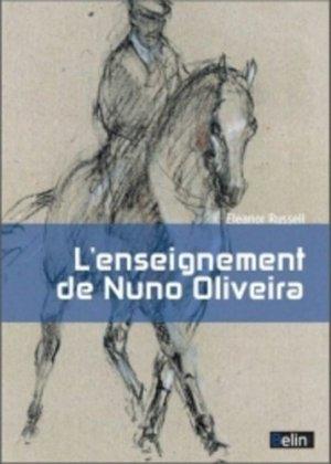 L'enseignement de Nuno Oliveira - belin - 9782701191812 -