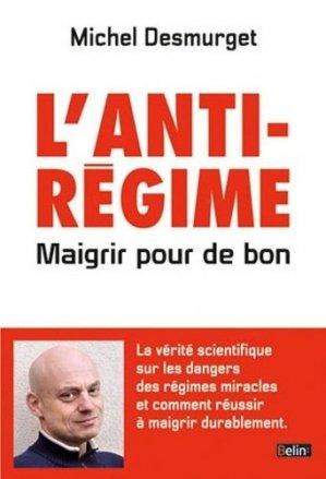 L'anti-régime - belin - 9782701195001 -