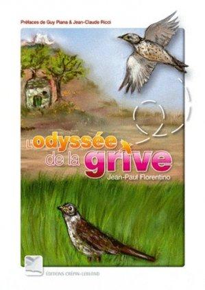 L'Odyssée de la grive - crepin leblond - 9782703003502 -