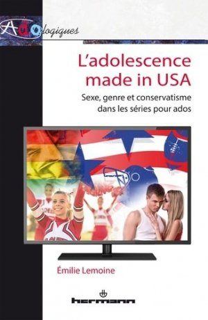 L'adolescence made in USA - hermann - 9782705673802 -