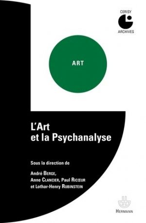 L'Art et la psychanalyse - hermann - 9782705683733 -