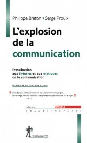 L'explosion de la communication - la decouverte - 9782707173829 -