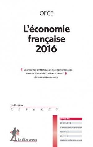 L'économie française 2016 - la decouverte - 9782707186775 -