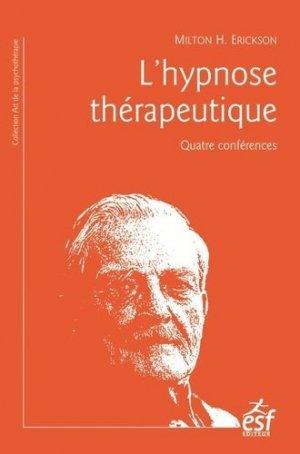 L'hypnose thérapeutique - esf - 9782710132523 -