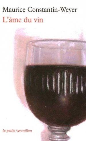 L'ame du vin - la table ronde - 9782710330752 -