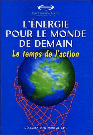 L'énergie pour le monde de demain - technip - 9782710807810 -