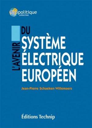 L'avenir électrique européen - technip - 9782710811893 -