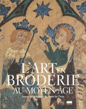 L'art en broderie au Moyen âge - rmn - 9782711874286 -