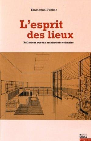 L'esprit des lieux - ehess - 9782713225369 -