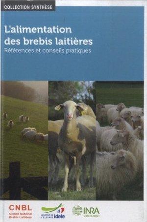 L'alimentation des brebis laitières - technipel / institut de l'élevage - 9782714800350 -