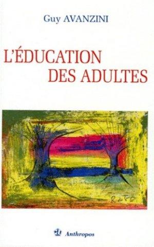 L'éducation des adultes - Economica - 9782717831238 -