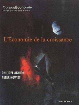 L'économie de la croissance - Economica - 9782717858655 -