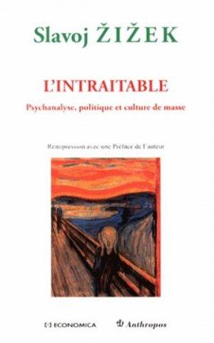 L'intraitable - economica anthropos - 9782717865615 -