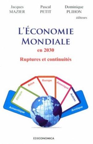 L'économie mondiale en 2030 - Economica - 9782717866421 -