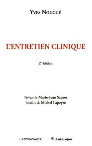 L'entretien clinique - economica anthropos - 9782717869187