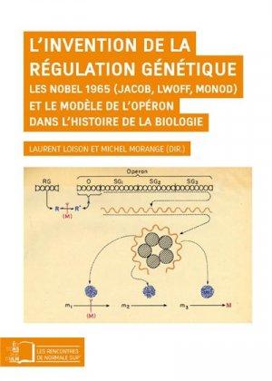 L'invention de la régulation génétique - rue d'ulm - 9782728805631 -