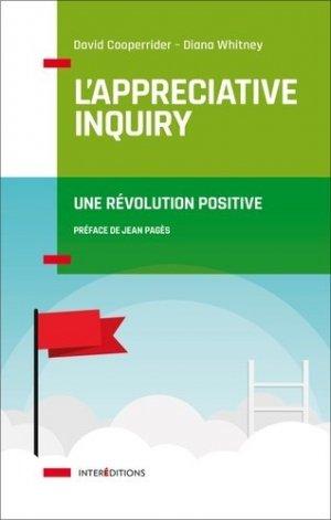 L'appreciative inquiry - intereditions - 9782729618957 -