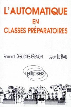 L'automatique en classes préparatoires - ellipses - 9782729855192 -