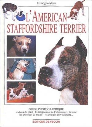 L'american staffordshire terrier - de vecchi - 9782732827162 -