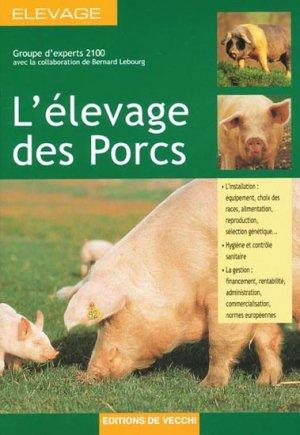 L'élevage des porcs - de vecchi - 9782732835426 -