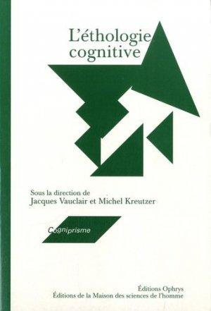 L'éthologie cognitive - ophrys - 9782735110339 -