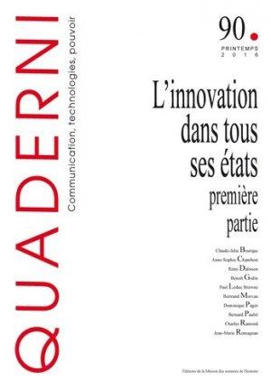 L'innovation dans tous ses états - Maison des Sciences de l'Homme - 9782735121014 -