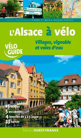 L'alsace à velo - ouest-france - 9782737373855 -