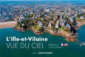 L'Ille-et-Vilaine vue du ciel - ouest-france - 9782737376184 -