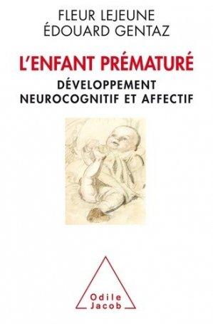 L'Enfant prématuré - odile jacob - 9782738132871 -