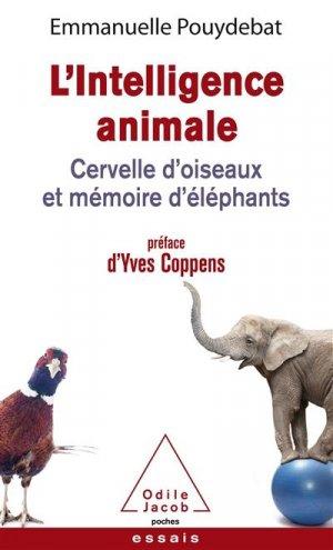 L'intelligence animale - odile jacob - 9782738152046 -