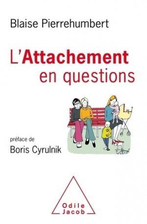 L'attachement en questions - odile jacob - 9782738152251 -