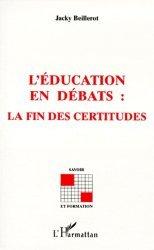 L'éducation en débats - l'harmattan - 9782738474025 -