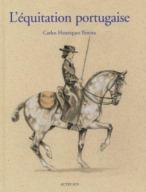 L'équitation portugaise - actes sud - 9782742751822 -
