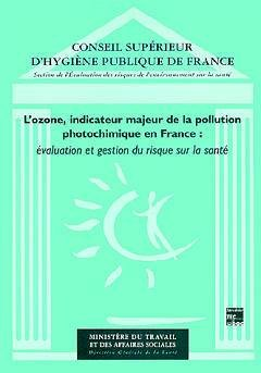 L'ozone, indicateur majeur de la pollution photochimique en France - lavoisier / tec et doc - 9782743001025 -